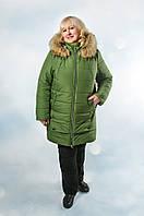 Женская куртка Зима на холлофайбере (рр. 56-62)