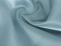 Ткань Креп-сатин Голубой