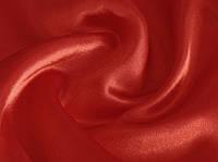 Ткань Креп-сатин Красный