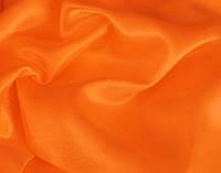 Ткань Креп-сатин Оранжевый