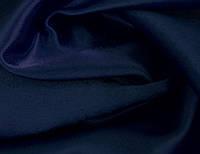 Ткань Креп-сатин Темно - синий