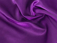 Ткань Креп-сатин Фиолетовый