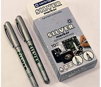 Маркер CENTROPEN 2670 1мм серебро 10шт