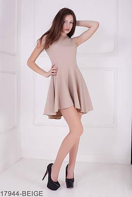 Жіноче літнє бежеве плаття Gersy (XS-XXL)