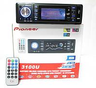 Автомагнитолы Pioneer 3100U Usb+Sd+Fm+Aux+ пульт, фото 1