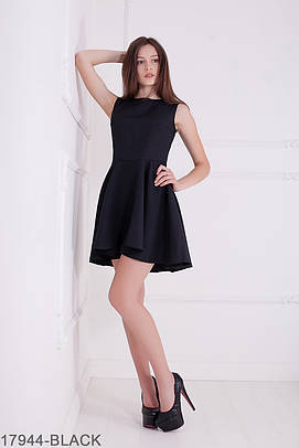 Жіноче літнє чорне плаття Gersy