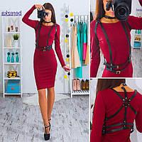 Платье женское с портупеей 33316 Платья женские
