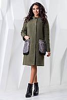 Пальто женское батал П-966 н/м Пальто женские зимние больших размеров