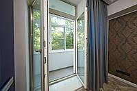 Дверь металлопластиковая WDS 4-камерный 1750*2350 штульповая