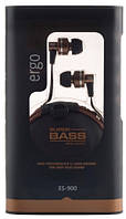 Наушники с микрофоном ERGO ES-900 Bronze