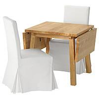 Стол MÖCKELBY / HENRIKSDAL  2 стула IKEA