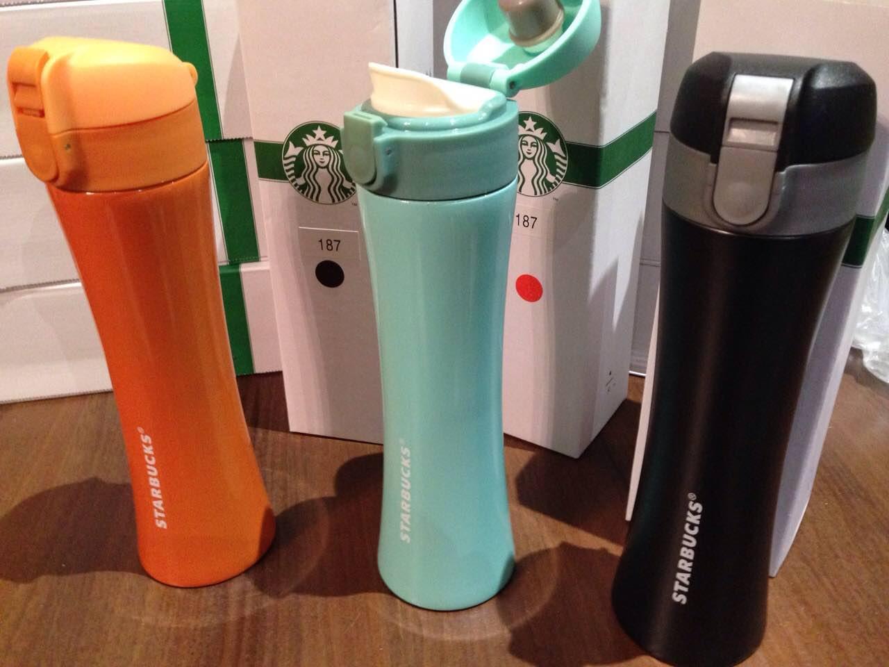 Термос бутылка Нержавеющая сталь Starbucks  H-187  500 мл   Акция !!! - КОЛОНИАЛЬНЫЕ ТОВАРЫ в Киеве