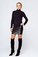 Короткая кожаная юбка Абра