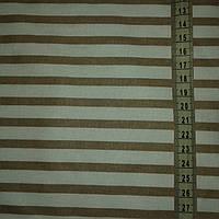 Ткань с крупной коричневой полоской