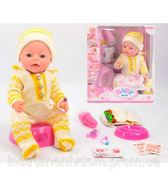 Интерактивная кукла-пупс BABY Born BL 009A (в коробке)