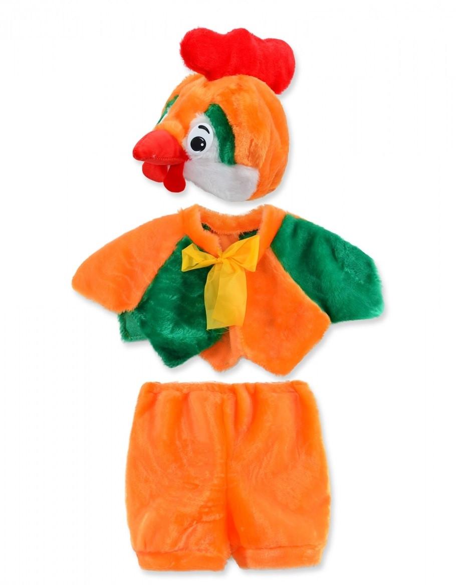 Детский карнавальный костюм Петушка 2-4года