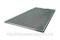Решетка стальная 400х600х23