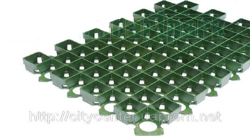 Газонная решетка зеленая 38 мм