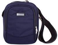 Синяя мужская  спортивная сумка на плечо ONEPOLAR(ВАНПОЛАР) W5205-navy