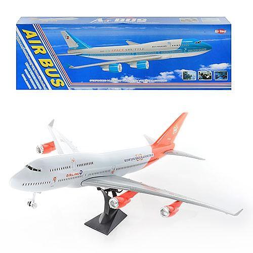 Самолет 747-400, точная копия Боинга 747-400, юному любителю самолетов, легкая сборка, в коробке 72*29*7 см - Интернет магазин подарков и товаров для дома «Жораппа в Харькове