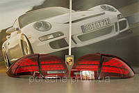 Комплект задних фонарей, цвет Black из 4-ех шт Porsche Cayenne