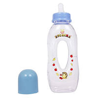 Бутылочка пластиковая 250 мл бублик с силиконовой соской