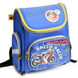 """Ортопедический ранец  для мальчика Dr Kong (Доктор конг) """"мотоцикл"""" BS011"""