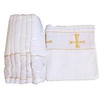 Полотенце крестильное махра
