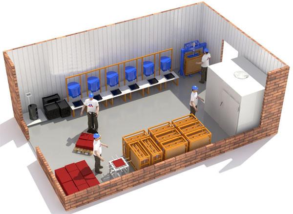 Производство изготовлению резиновой плитки