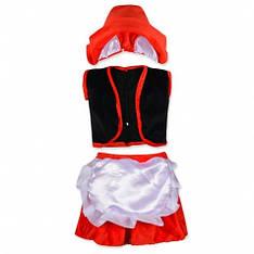 Детский карнавальный костюм Красной Шапочки 2-4года