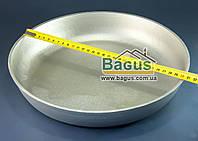 Форма для выпечки алюминиевая30см (сковорода без ручек, противень круглый) Пролис (П-300)