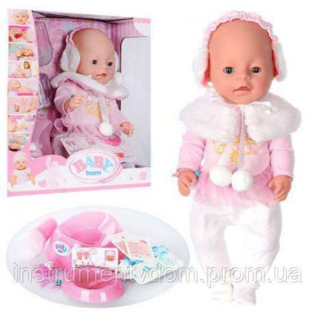 Интерактивная кукла-пупс BABY Born BL 010A (в коробке)