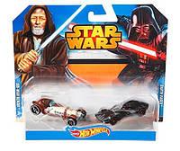 Набор коллекционных машинок Хот Вилс Стар Варс Obi-Wan и Kenobi