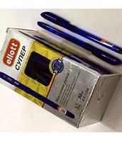 Ручкa масляная синяя SUPER Ellott 2208 50шт/уп