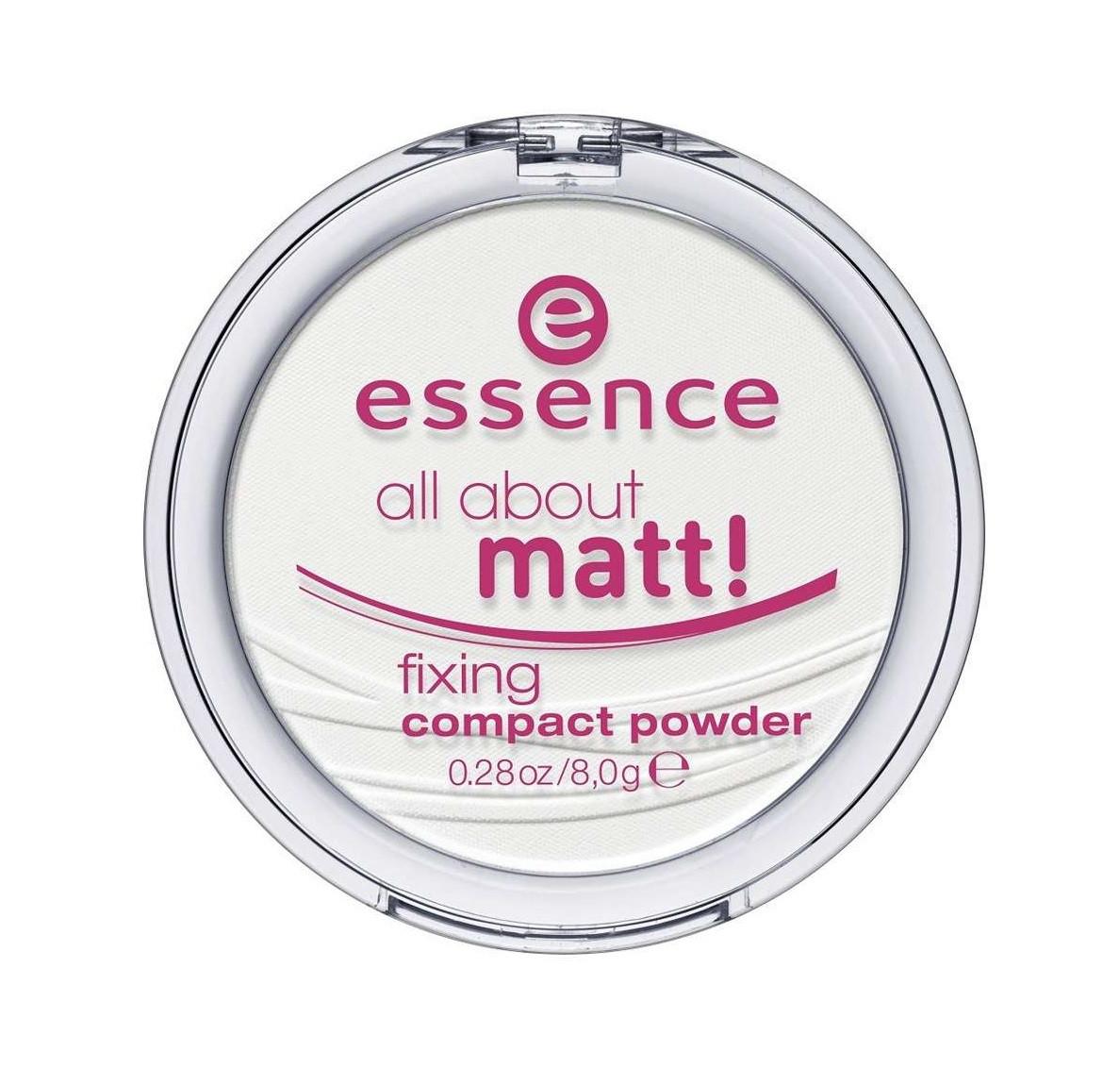 Компактная матирующая пудра Essence All About Matt!