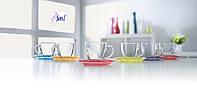 Carina Rainbow Сервиз чайный 220 мл - 12 пр. Luminarc J5978