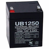 Аккумулятор ИБП 12В 5Ач AGM Ritar RT1250 / 12V 5.0Ah / 90х70х107 мм