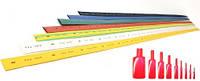 Термоусадочна трубка(термоусадка) 7/3,5 мм червона (20м/упаковка)