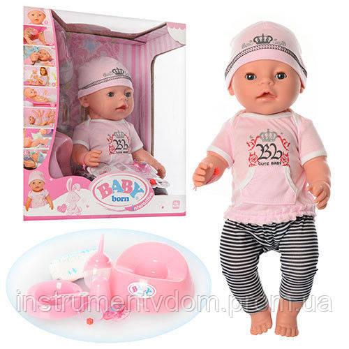 Интерактивная кукла-пупс BABY Born BL 010D (в коробке)