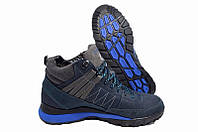 Мужские зимние кроссовки спортивные ботинки Timberland Blue