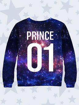 Свитшот детский Принц Космос