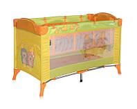 Кровать-манеж ARENA 2 LAYERS для детей с рождения (сумка, кольца) Размер: 120 х 60 см, высота 77 см ТМ Lorelli (Bertoni)