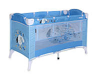 Детская кровать-манеж ARENA 2 LAYERS (2 уровня, боковая дверца, 120 х 60 х77м) ТМ Lorelli (Bertoni) 4 цвета