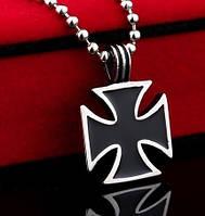 """Кулон мужской """"Мальтийский крест"""", сталь 316L"""