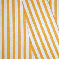 Декоративная ткань полоска желтая