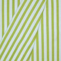 Декоративная ткань полоска салатовая