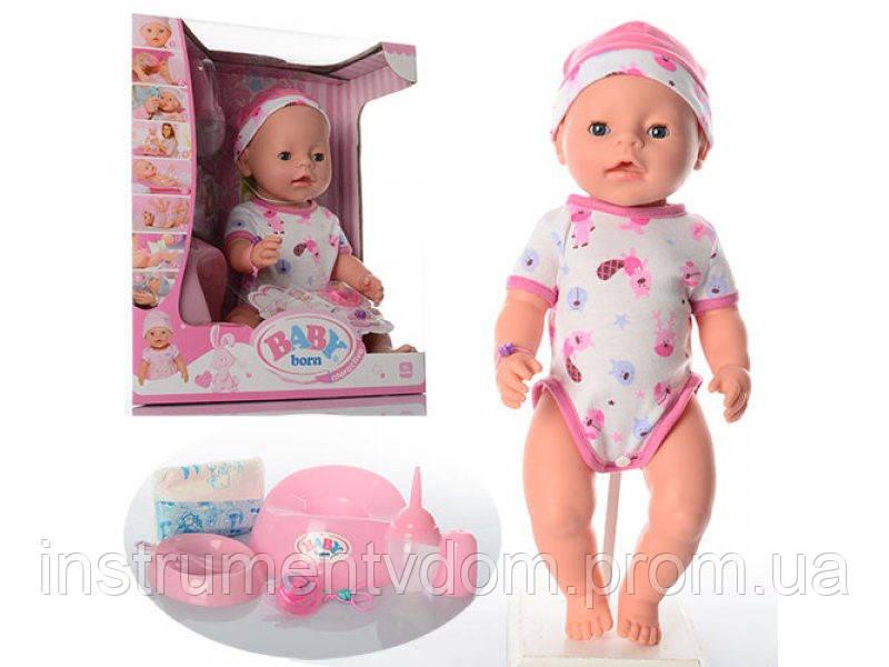 Интерактивная кукла-пупс BABY Born BL 011G (в коробке)