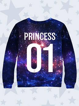 Детский свитшот Принцесса Космос