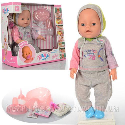 Интерактивная кукла-пупс BABY Born 8001-9 (в коробке)