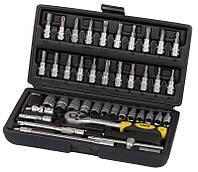 Профессиональный набор инструментов Сталь 46 единиц
